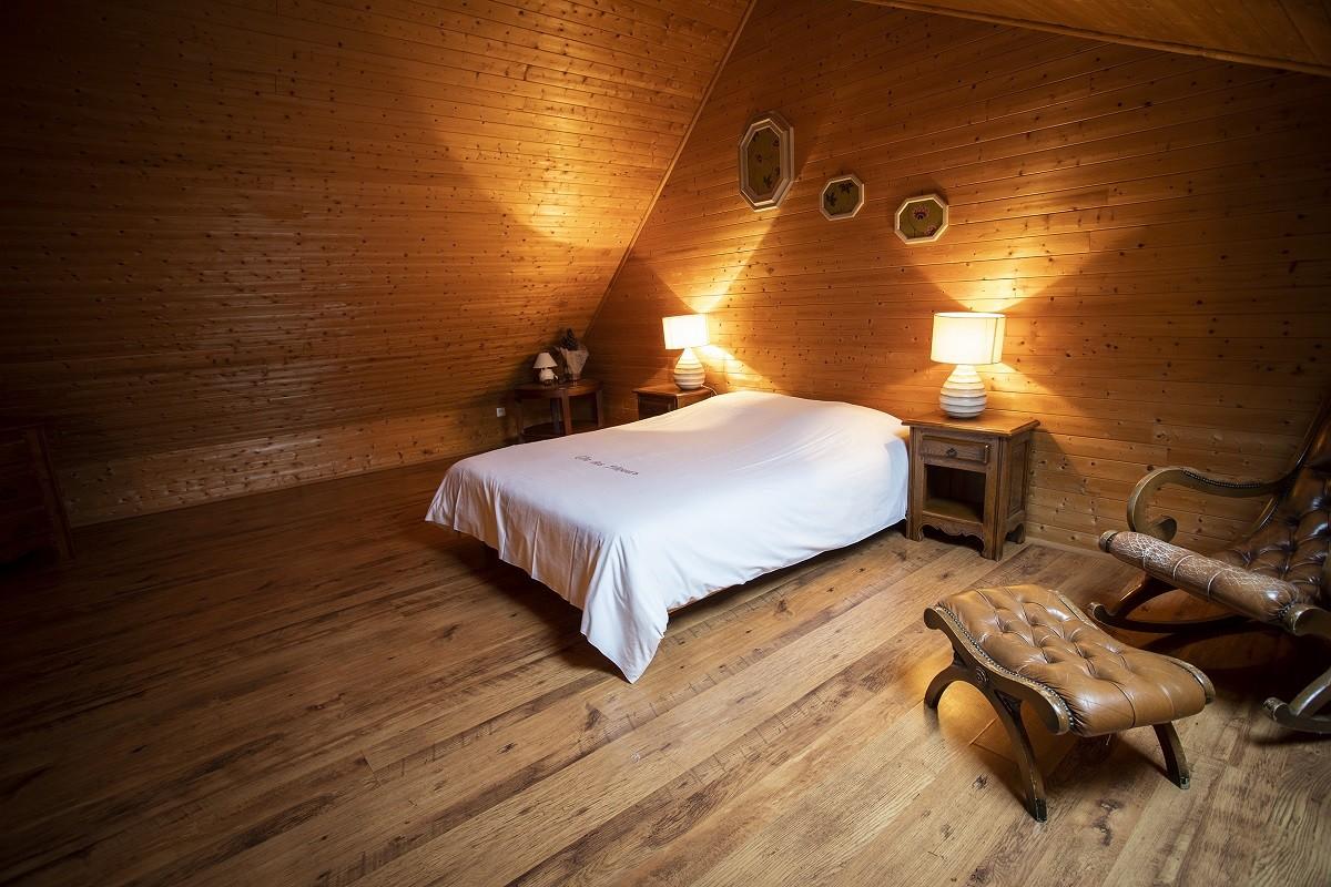 chambre bois étage